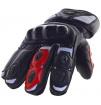 Ogrzewane rękawice motocyklowe Glovii ze skóry bydlęcej