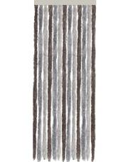 Zasłona do drzwi kampera Acapulco 56 x185 cm szaro beżowo brązowa Brunner