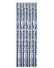 Kotki do drzwi kampera Acapulco 56 x185 cm szaro niebieskie Brunner