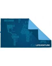Ręcznik turystyczny szybkoschnący Soft Fibre Advance Świat Lifeventure