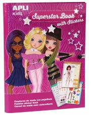 Książka do projektowania mody - Superstar Apli Kids