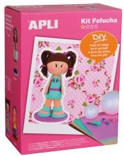 Lalka Fofucha - Dziewczynka Apli Kids