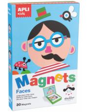 Magnetyczna układanka - Twarze Apli Kids