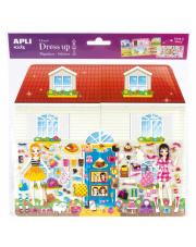 Naklejki 3D Jumbo - Domek Apli Kids