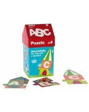 Puzzle w kartonowym domku - Litery 3+ Apli Kids