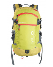 Turystyczny plecak COROICO 25+3  lime green deep red Milo