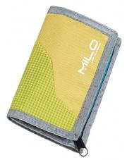 Turystyczny portfel Wally zielono niebieski Milo