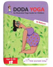 Gra na podróż Karty Doda Yoga  Natura wer. ang The Purple Cow