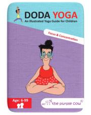 Gra na podróż Karty Doda Yoga Skupienie i Koncentracja wer. ang The Purple Cow