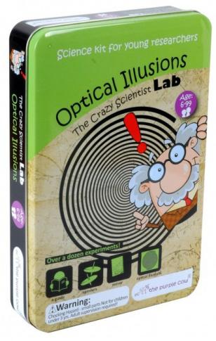 Zestaw do robienia eksperymentów Iluzje optyczne The Purple Cow