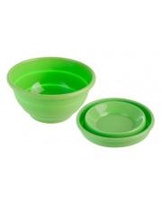 Turystyczna składana miska Foldaway Bowl zielona Brunner