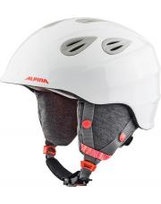 Kask juniorski Grap 2.0 Junior white flaming 54 - 57 Alpina