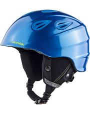 Kask juniorski Grap 2.0 Junior blue/neon/yellow 54 - 57 Alpina