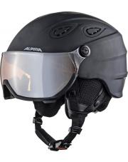 Kask narciarski z wizjerem Grap Visor 2.0 black matt 57 - 61 Alpina