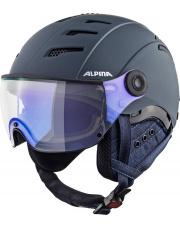 Kask narciarski z wizjerem Jump 2.0 JV VM nightblue denim matt 55 - 58 Alpina