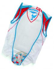 Dziecięca kamizelka ochronna Jacket Soft Ptotector Kids white argyle 152 - 172 Alpina