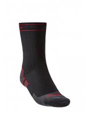 Skarpety wodoodporne StormSock Heavy Boot black/red Bridgedale