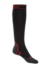 Skarpety wodoodporne StormSock Heavy Knee black/red Bridgedale