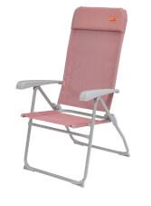 Lekkie krzesło turystyczne Capella Coral Red Easy Camp