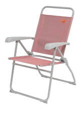 Składane krzesło turystyczne Spica Coral Red Easy Camp