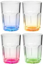 Zestaw turystycznych szklanek Octaglass Color 0,3 l Brunner