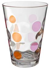 Zestaw szklanek kempingowych Set Baloons Color różowo pomarańczowy Brunner
