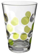 Zestaw szklanek kempingowych Set Baloons Color zielony Brunner
