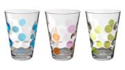 Komplet szklanek nietłukących Set Baloons Color 0,35 l wielokolorowy Brunner