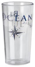 Komplet eleganckich szklanek turystycznych Set Festa Blue Ocean 0,4 l Brunner