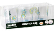 Zestaw szklanek nietłukących Set Multiglass SAN Sandhya Brunner