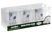 Zestaw szklanek nietłukących Set Multiglass SAN Cascade Brunner