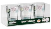 Komplet szklanek turystycznych Set Multiglass SAN Belfiore Brunner
