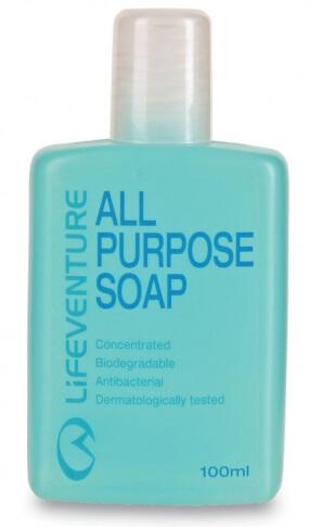 Mydło antybakteryjne i biodegradowalne All Purpose 100 ml Lifeventure