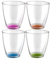 Komplet kolorowych szklanek kempingowych 0,2 l Set Tahiti Color Antislip Brunner