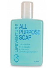 Mydło antybakteryjne i biodegradowalne All Purpose 200 ml Lifeventure