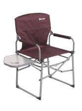 Krzesło ze stolikiem Picota With Side Table claret Outwell