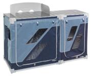 Dwumodułowa szafka kuchenna Jum-Box 3G CTS niebieska Brunner