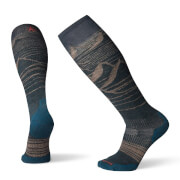 Skarpety snowboardowe U'S PhD Snow Light Elite Smartwool szare