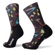 Skarpety trekkingowe U'S Hike Light Sharp Things Print Crew Smartwool