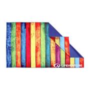 Ręcznik szybkoschnący 150x90 cm SoftFibre Striped Planks Lifeventure