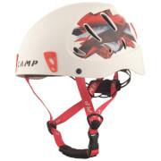 Kask wspinaczkowy Armour CAMP biało czerwony rozmiar L typ ABS