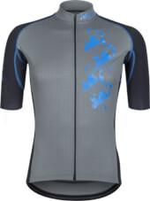 Koszulka na rower Vezuvio Neo Grey Cube