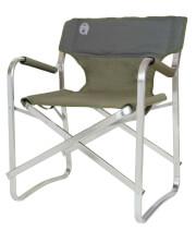 Kompaktowe krzesło turystyczne Deck Chair Green Coleman