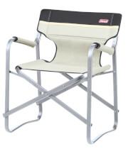 Kompaktowe krzesło turystyczne Deck Chair Khaki Coleman