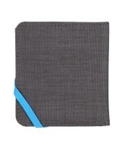Mały portfel turystyczny RFiD Compact Wallet Grey Lifeventure