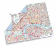 Ręcznik szybkoschnący SoftFibre OS Map Towel Giant Central London Lifeventure