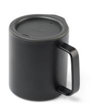 Kubek z przykrywką Glacier Stainless Camp Cup 269 ml GSI Outdoor czarny