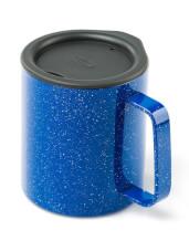 Kubek z przykrywką Glacier Stainless Camp Cup 296 ml GSI Outdoors niebieski
