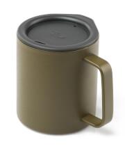 Kubek z przykrywką Glacier Stainless Camp Cup 296 ml GSI Outdoors oliwkowy