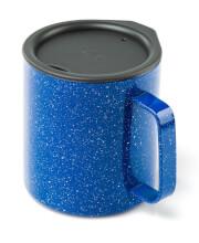 Kubek z przykrywką Glacier Stainless Camp Cup 444 ml GSI Outdoors niebieski